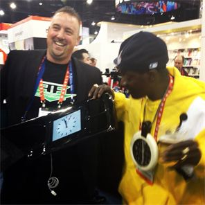 Hangin with Flava Flave  at CES 2013